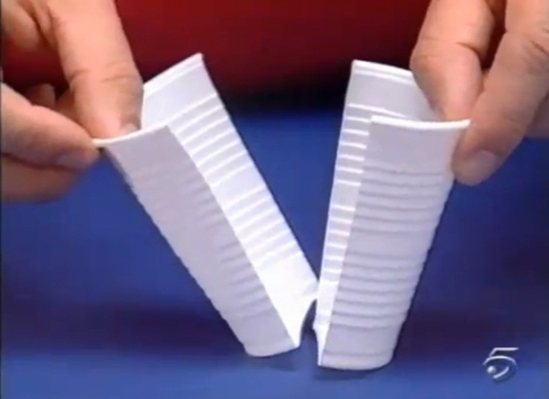 Manualidades con vasos desechables car interior design - Manualidades con vasos de plastico ...