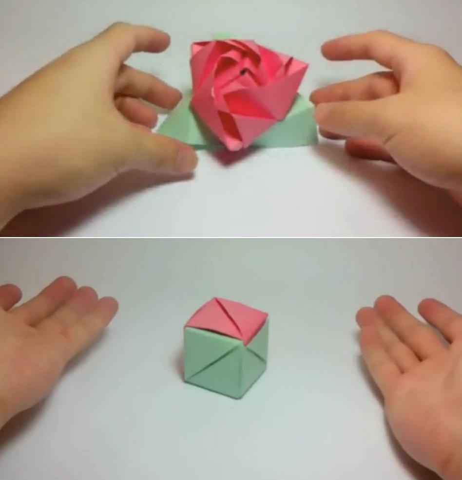 Como hacer una rosa de papel origami imagui - Como hacer una claraboya ...