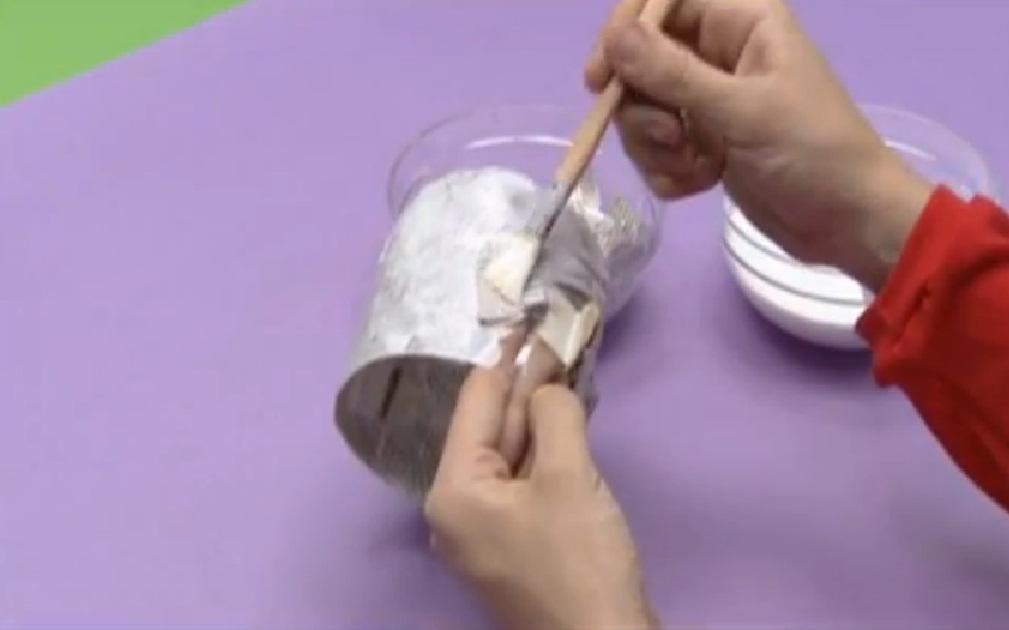 Cola blanca y agua manualidades de papel - Cola para papel ...