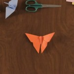 hacer mariposa origami
