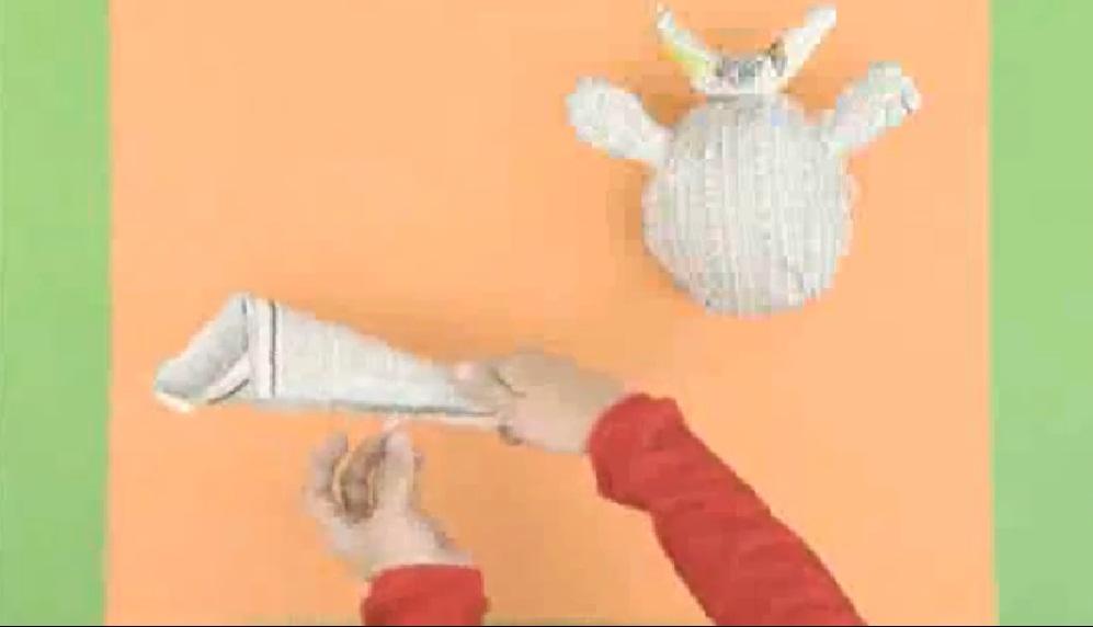 Manualidades patas de vaca manualidades de papel for Como hacer una banqueta tapizada