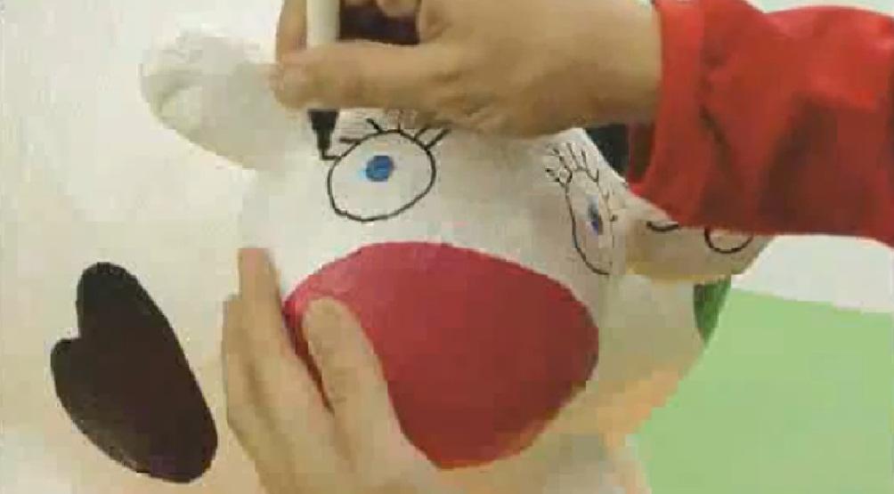 Manualidades pintar vaca manualidades de papel - Como hacer una manualidad ...