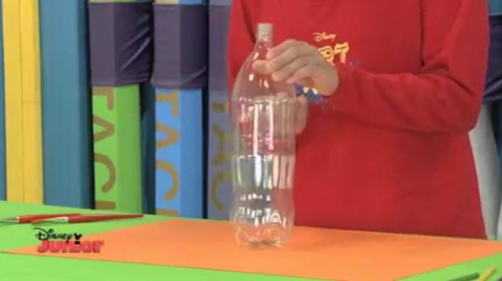 Como hacer un cocodrilo con botella de plastico