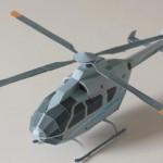 helicoptero origami