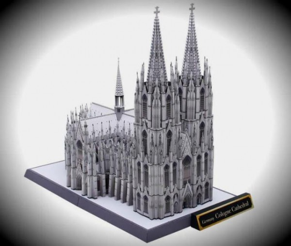 papercraft catedral colonia