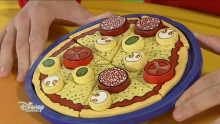 hacer pizza de arcilla