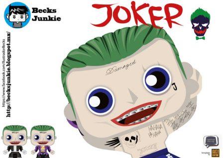 figuras de papel joker